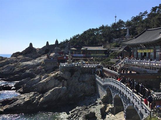 Busan, Južná Kórea: 海と海東龍宮寺