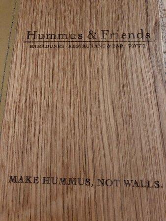 Hummus increíble!!!