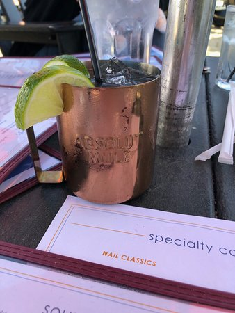 The Rusty Nail: Very limited cocktails