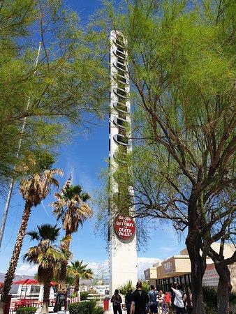 Världens högsta termometer finns i Baker i Nevada