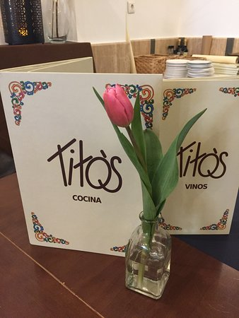 Tito's City: carta  internacional