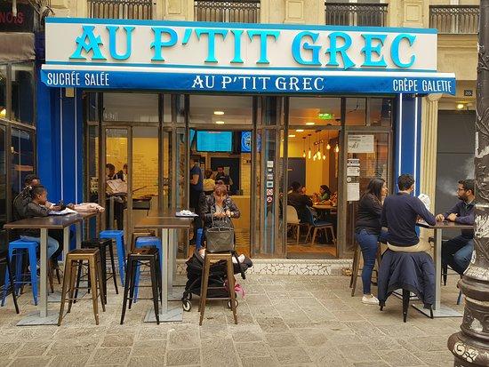 Au P'tit Grec: Vue de l'extérieur le jour