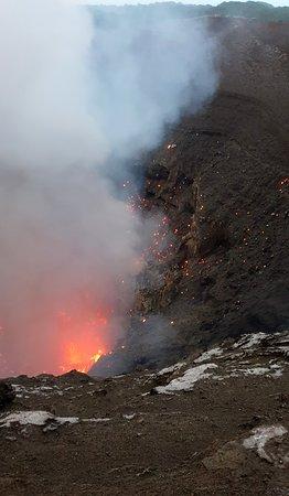 Plenty of flying lava