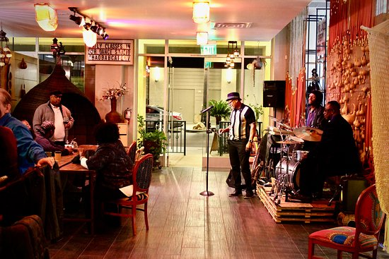The Baobab Stage Experience: Nightly entertainment at The Baobab Cafe!