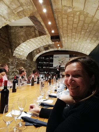 Paris French Wine Tasting in Elegant Bar with Lunch & Champagne Options: Cellar at O Chateau