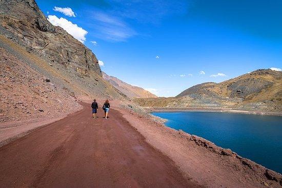 Cajon del Maipo und El Yeso Dam von...