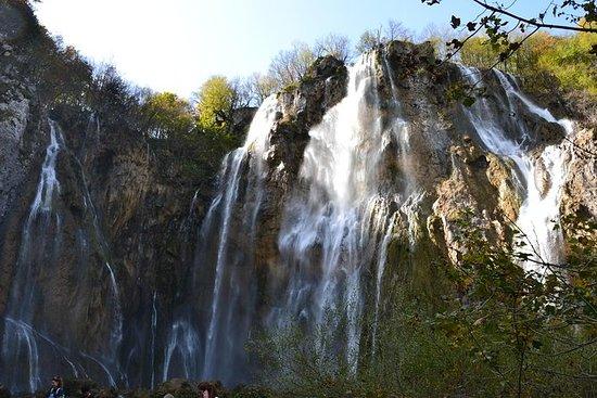 Tour por los lagos de Plitvice y el...