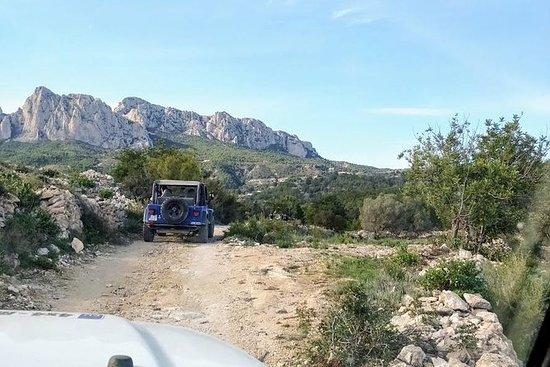 Sierra de Aitana 4x4 Off Road Jeep体验