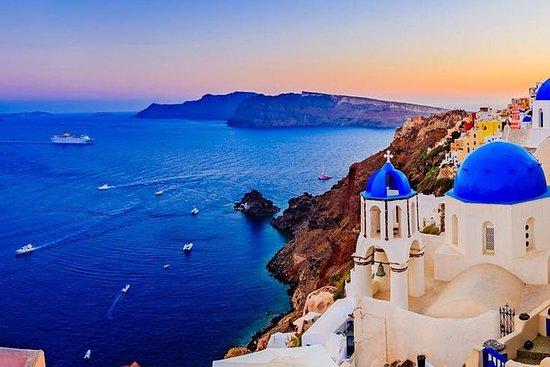 Excursión a la costa de Santorini...