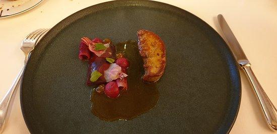 escalope de foie gras de canard poêlée