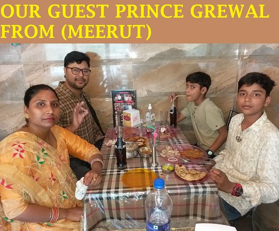 OUR GUEST FROM (MEERUT)