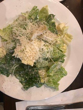 Scarolie's Pasta Emporium: A fresh Caesar salad