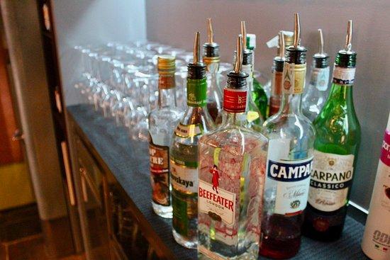 Osteria da Nason: Interno locale - tipi di drinks