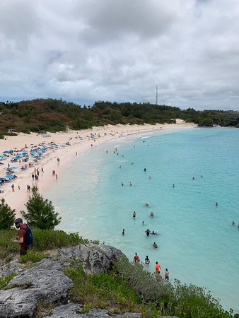 A few pics of the beautiful beach. Easily the most turquoise water I've ever seen.
