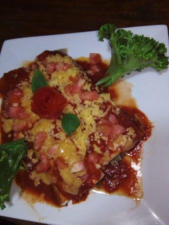 El Mirador del Aguacate: Enchiladas