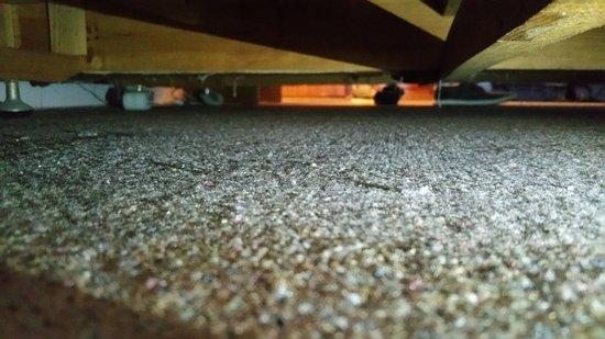 Unter dem Bett