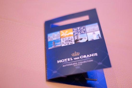 Hotel Van Oranje: Llave
