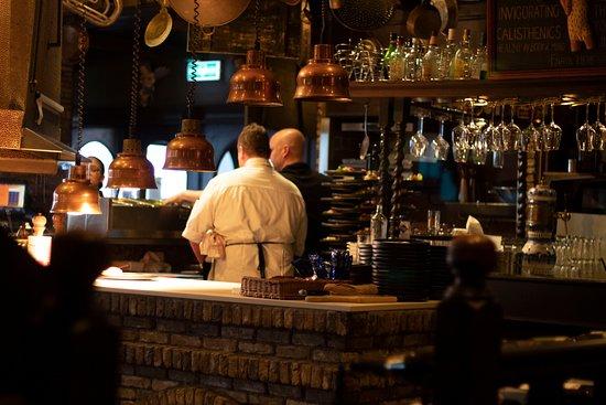 Hotel Van Oranje: Restaurante