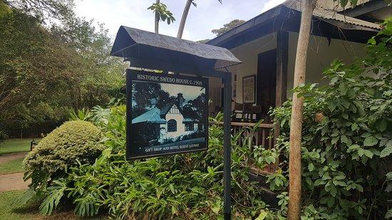 Tamambo Karen Blixen: Centenarian house with a history