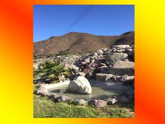 El Molle, Chile: cascada natural