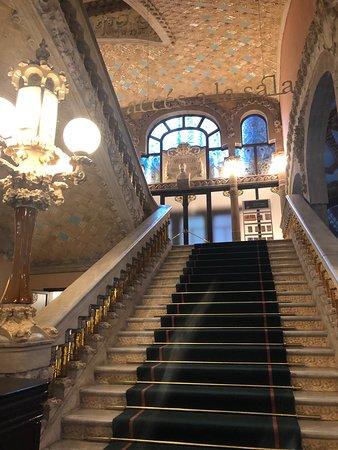 Palace of Catalan Music: interieur