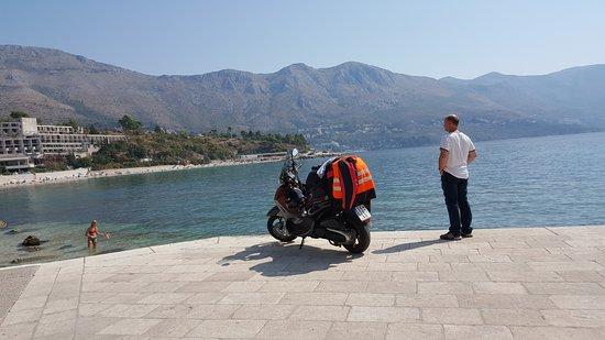 Kupari, Hrvatska: U blizini je cuvena plaza Borik
