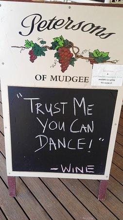 Always a great slogan.