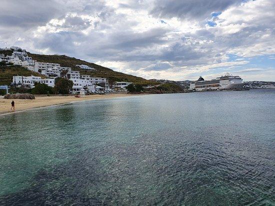 Agios Stefanos Beach: Clear sea