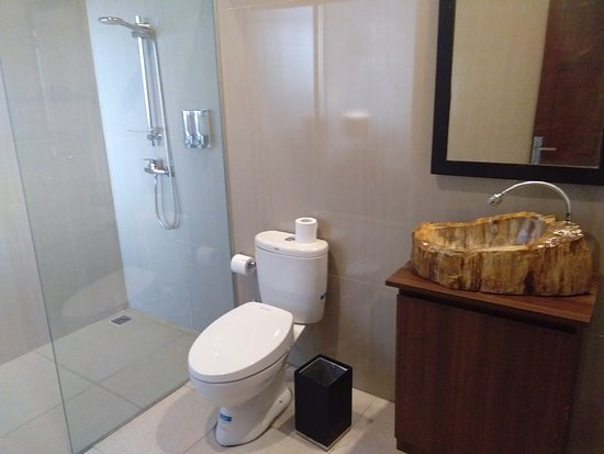 Atres Sari Resort: attached bathroom