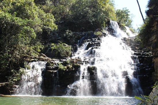 Guarda-Mor, MG: Cachoeira da Usina