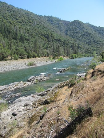 View along American River
