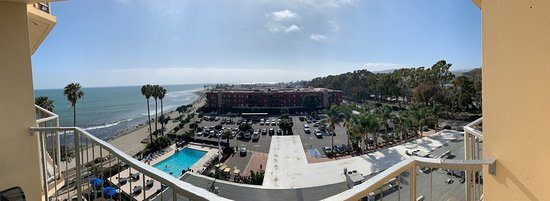 Crowne Plaza Ventura Beach: view from room 706