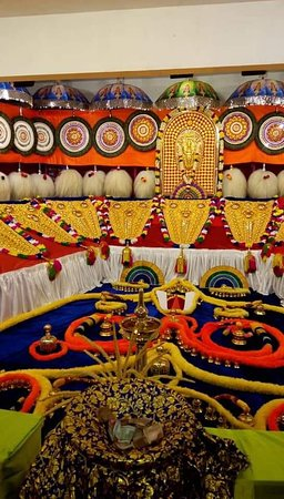 From Thrissur pooram  One the main famous temple festival's in Kerala It's main attractions is Kerala traditional style decorated elephants