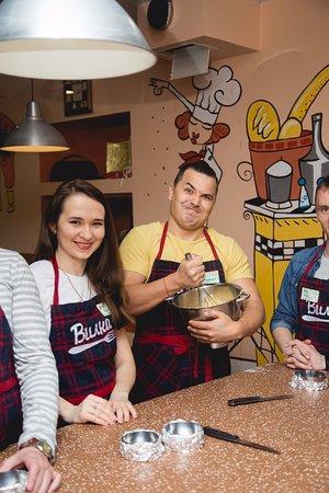 Culinary School Studio VILKA: Мужчины любят готовить!