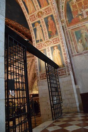 Basilica inferiore, Giotto