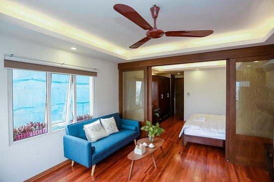 Executive 01bedroom - Living room