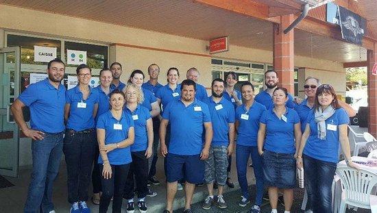 Saleich, France : Equipe associative & coopérative