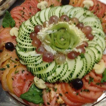 Salada Pepino e Tomate