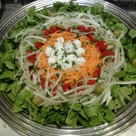 Coração de Minas: Salada