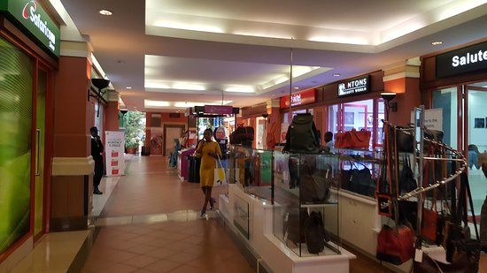 Galleria Shopping Mall: Colourful too
