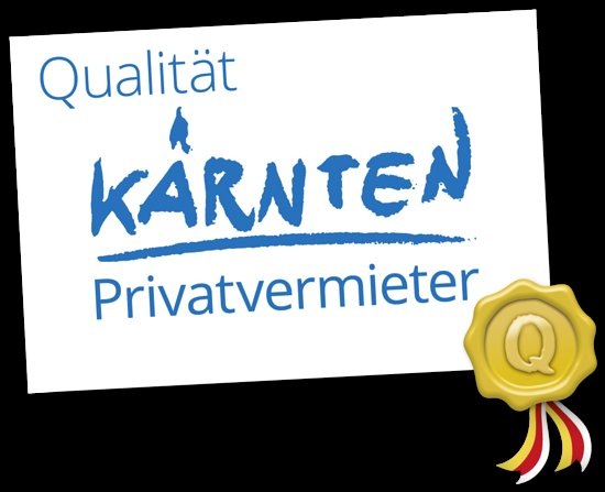 Wir sind stolz, mit dem Kärntner Qualitätssiegel ausgezeichnet worden zu sein!