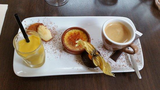 Cote Jardin: Café gourmand