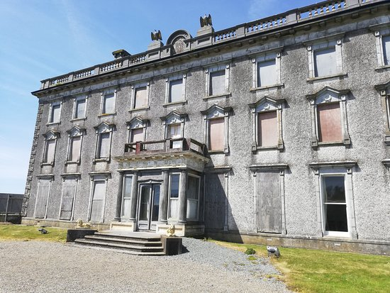 Hook Head, Irland: The front of Loftus Hall