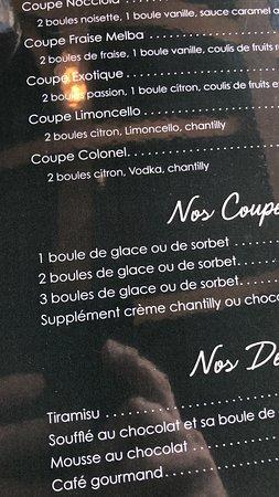 Bouge, Belgia: Desserts