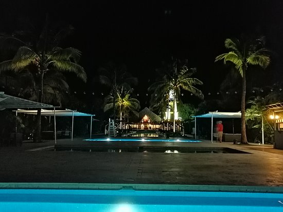 A nice resort in a quiet area