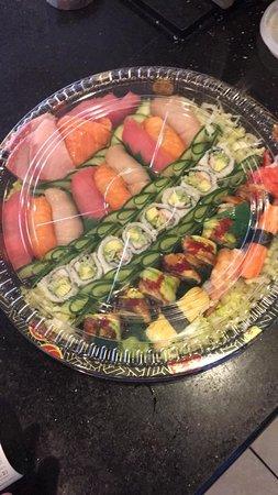 Sino 1 Chinese and Sushi Restaurant: sushi platter