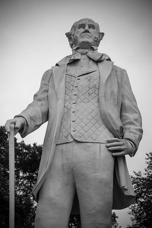 Sam Houston, one time Governor of Texas and Tennessee.