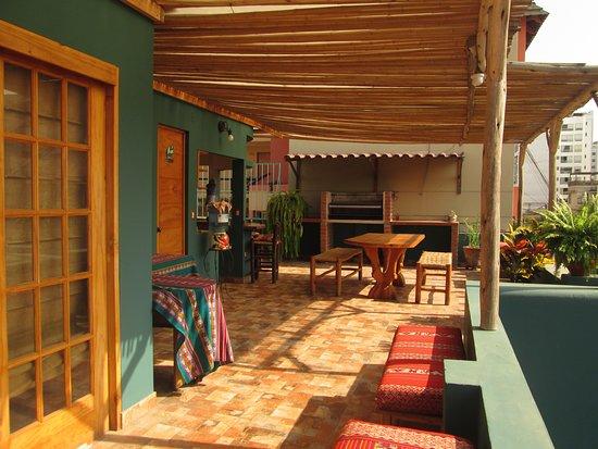 Lima, Peru: Tarde soleada en La Casona Azul...