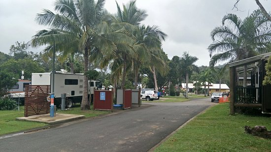 Discovery Parks - Airlie Beach: Well appointed caravan park 😀 Beautiful surroundings, quiet and peaceful. Definitely recommend.