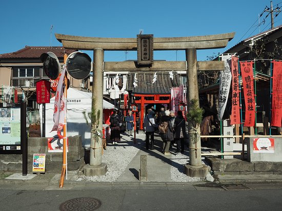 ‪Kamomeinari Shrine‬